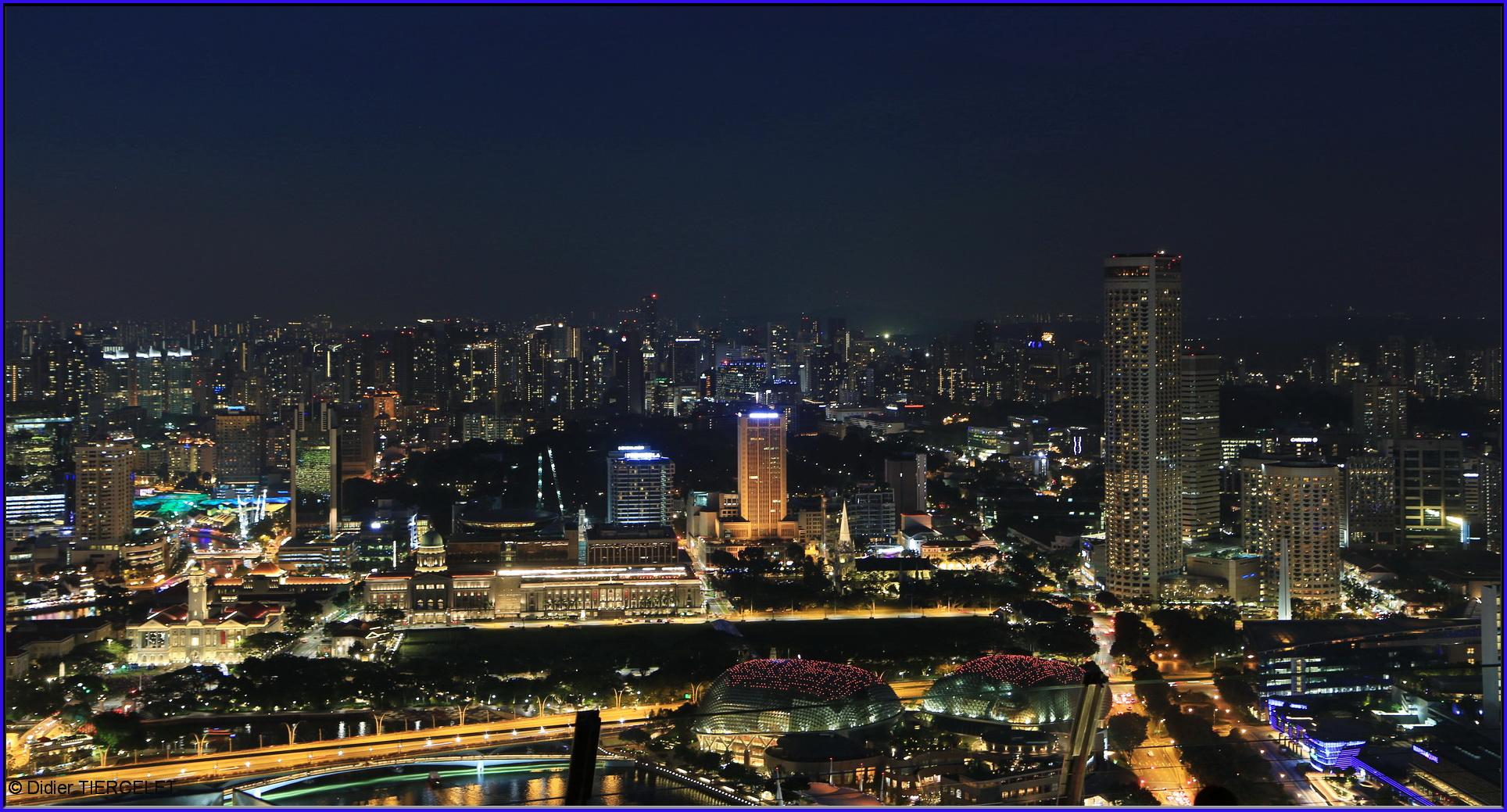 C'est beau une ville la nuit !