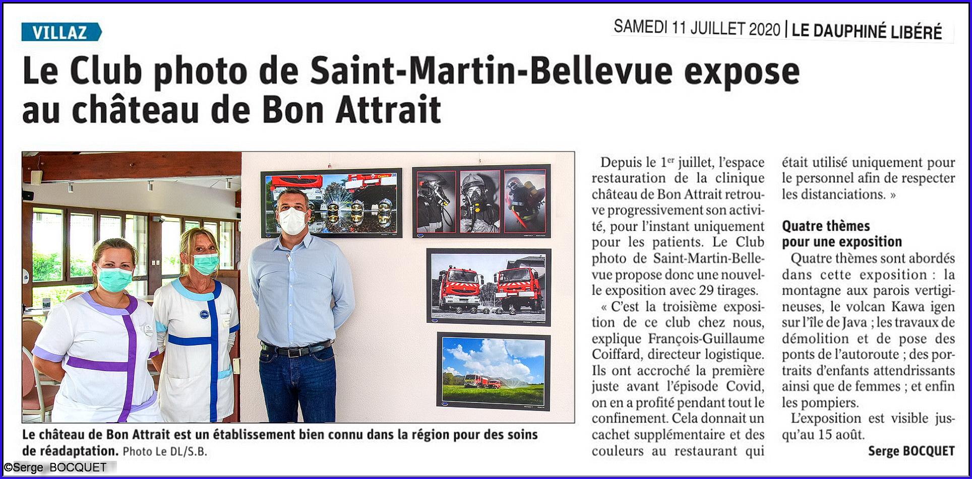 2° expo au château de Bon-Attrait !